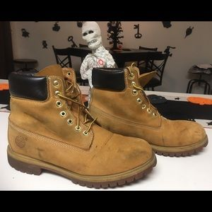 a3b5e8d7305c Men s Timberland Boots Used 10m